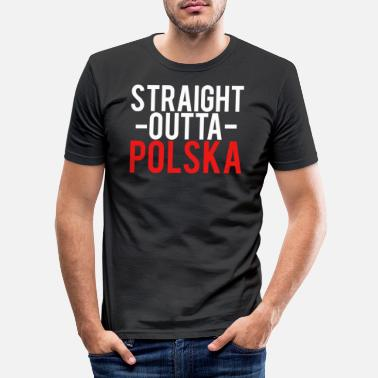 Poland Poland - Men's Slim Fit T-Shirt