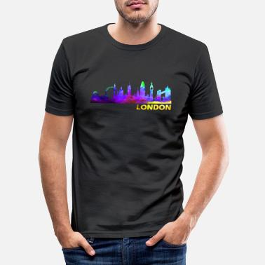 London London London LONDON London - Männer Slim Fit T-Shirt