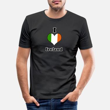 I Love Ireland I love Ireland - Mannen slim fit T-shirt