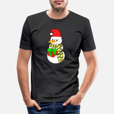 Snemand snemand snemand - Slim fit T-shirt mænd