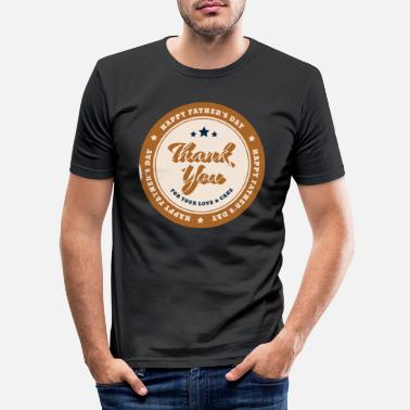 Father's Day, Dad, Celebrate, Drink, Father, Fahrradtou - Men's Slim Fit T-Shirt