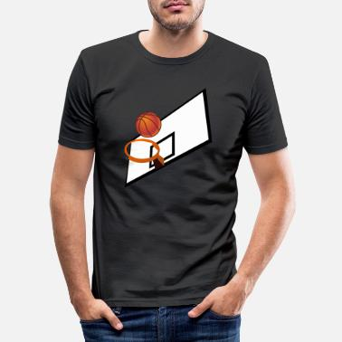 Playing Field Basketball playing field - Men's Slim Fit T-Shirt