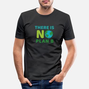 Planet There is No Plan B - Slim fit T-shirt mænd