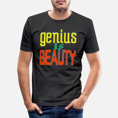 Genius Genius - Männer Slim Fit T-Shirt