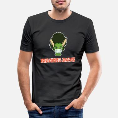 Bride halloween Bride of Frankenstein bizarre days - Men's Slim Fit T-Shirt