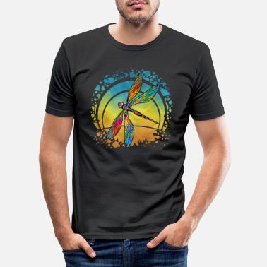 Wing Dragonfly - Men's Slim Fit T-Shirt