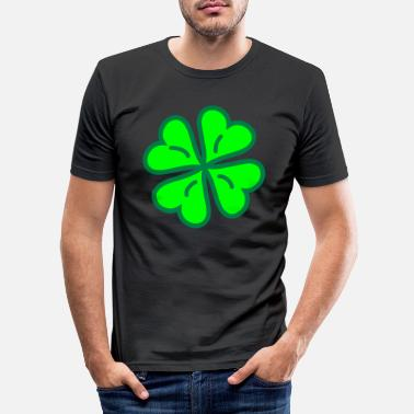 Lucky Clover Lucky Clover - Men's Slim Fit T-Shirt