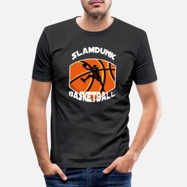 Slamdunk Slamdunk Basketball - Männer Slim Fit T-Shirt