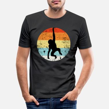 Chimpanzé Chimpanzé chimpanzé - T-shirt moulant Homme