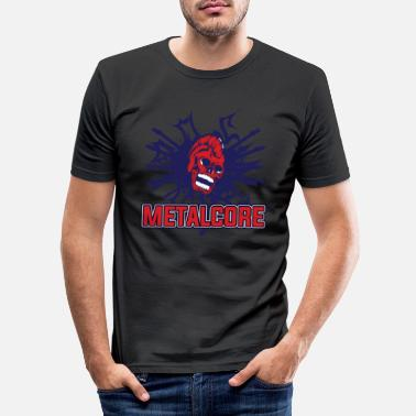 Metalcore Metalcore - Männer Slim Fit T-Shirt