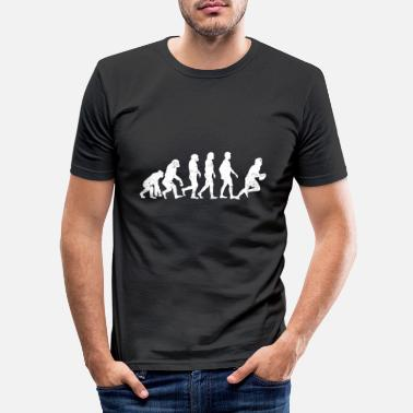 Rugby Evolution Rugby Football - Men's Slim Fit T-Shirt