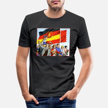 Parade DDR parade - Slim fit T-shirt mænd