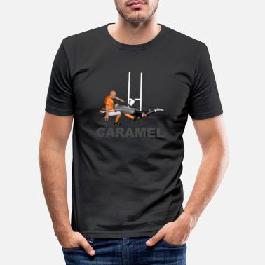 Lyon Rugby Toulousain Caramel Rugby - Men's Slim Fit T-Shirt