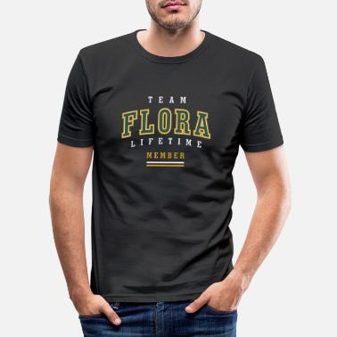 Flora Flora - Men's Slim Fit T-Shirt