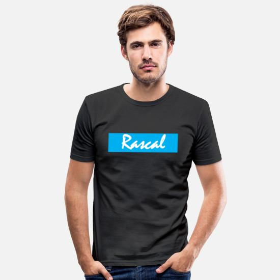 Rogue T-Shirts - Rascal - Men's Slim Fit T-Shirt black