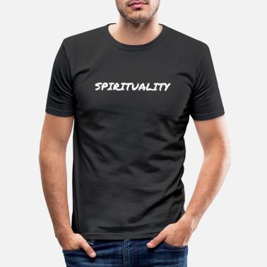 Spiritual spirituality - Men's Slim Fit T-Shirt