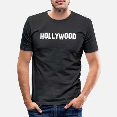 Hollywood HOLLYWOOD - Men's Slim Fit T-Shirt