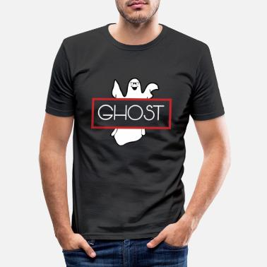 Ghost Halloween Ghost Ghost Ghost - Men's Slim Fit T-Shirt