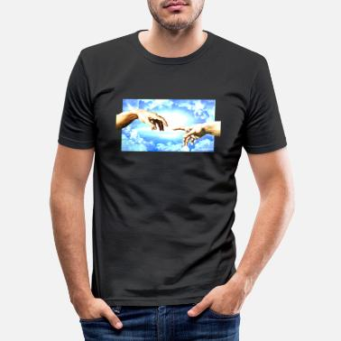 Picture overexposed lightning picture - Männer Slim Fit T-Shirt