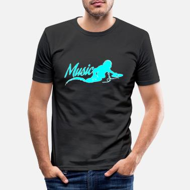 Dj DJ - Männer Slim Fit T-Shirt