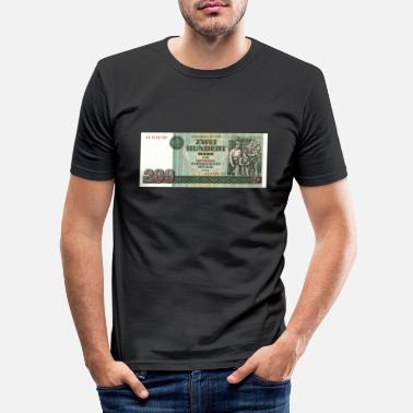 Germany 200 mark the ddr - Men's Slim Fit T-Shirt