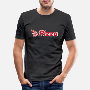 Italia Italy pizza - Men's Slim Fit T-Shirt