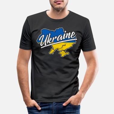 Ukraine Ukraine - Slim fit T-shirt mænd