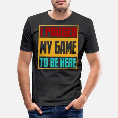 Game Over Gaming Gamers Gamers Gamers Video Games Joystick - Slim fit T-shirt mænd