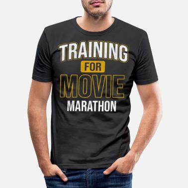 Série Films Marathon Film Série de films Addicted Cinema - T-shirt moulant Homme