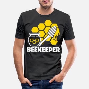 Honey Bee Honey bee bees bee beekeeper honey - Men's Slim Fit T-Shirt
