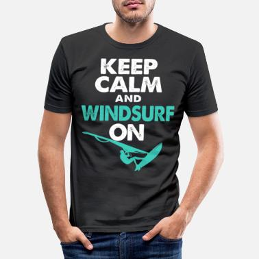 Californien Windsurfing Windsurfing Windsurfing Watersport Surf - Slim fit T-shirt mænd