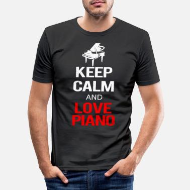 piano - Men's Slim Fit T-Shirt