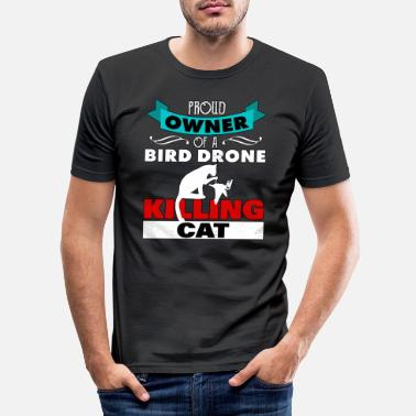 Monitoring Birds Arent Real government gift to the Voge - Men's Slim Fit T-Shirt