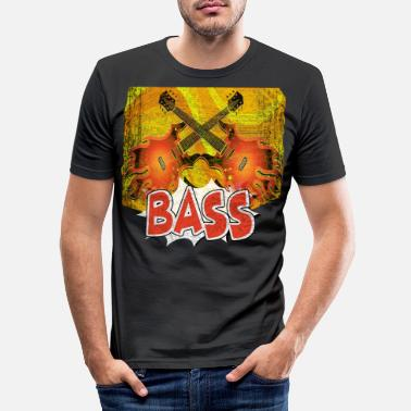 Bass Bass - Männer Slim Fit T-Shirt