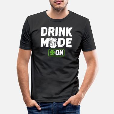 Party Drink Mode on - Men's Slim Fit T-Shirt