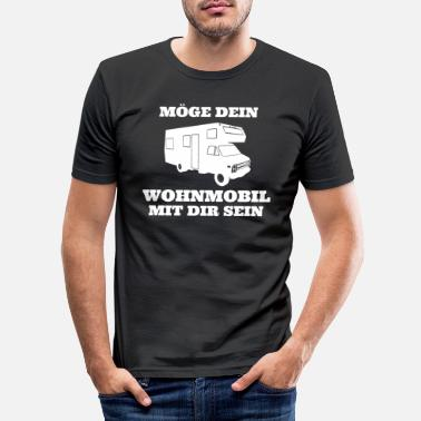 Mobile Home Your mobile home - Men's Slim Fit T-Shirt