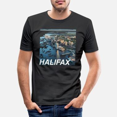 Province Halifax - capital of the province of Nova Scotia - Men's Slim Fit T-Shirt