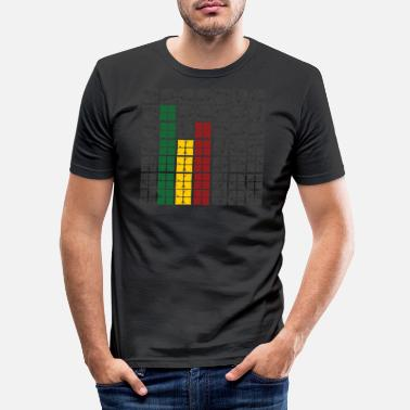 Equalizer rasta equalizer - slim fit T-shirt