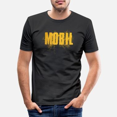 Mobile Mobile - Men's Slim Fit T-Shirt
