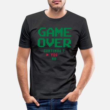 Over Game over - Men's Slim Fit T-Shirt