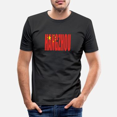 Hangzhou HANGZHOU CHINA - Men's Slim Fit T-Shirt