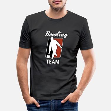 Bowling Team Bowling team - Men's Slim Fit T-Shirt