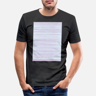 Strip strip - Men's Slim Fit T-Shirt