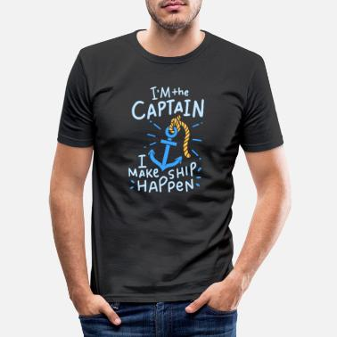 Boats Boat Boating Boating - Men's Slim Fit T-Shirt