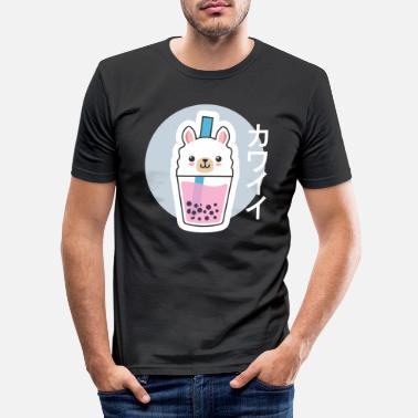Manga Lama Anime Manga Simpatico Kawaii Japan Comic - Maglietta slim fit uomo