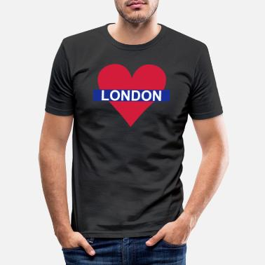 Underground Love London - Underground - Maglietta slim fit uomo