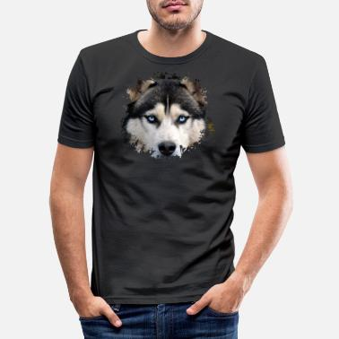 Husky Husky - Slim fit T-skjorte for menn