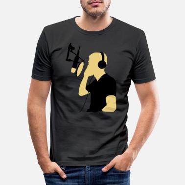 Record record - Men's Slim Fit T-Shirt