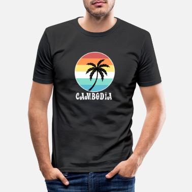 Cambodge Cambodge - T-shirt moulant Homme