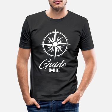 Guide Hold Me & Guide Me partner look - Men's Slim Fit T-Shirt
